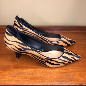 Anthropologie Vicenza Montreal Animal Print Heels